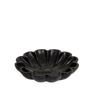 Jasmine Marble Bowl Small Black