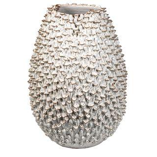 Egg Vase Large White