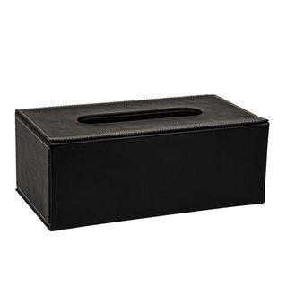 Genieve Tissue Box Black