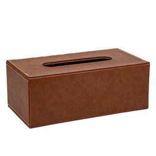 Genieve Tissue Box Tan