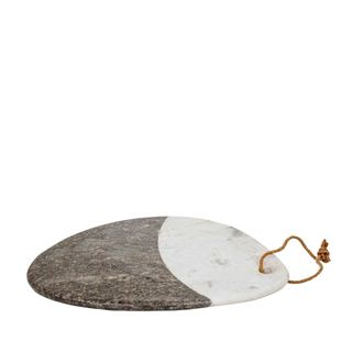 Marble Cheese Board White and Grey