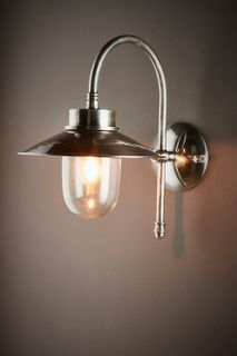 Legacy Outdoor Wall Light Antique Silver