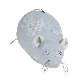 Field Mouse Door Stopper Powder Blue