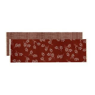 Olive Grove & Cotswold Table Runner Terracotta