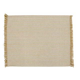 Abby Stripe Placemat 2 side Set of 4 Mustard