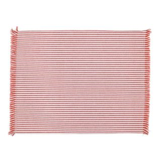 Abby Stripe Placemat 2 side Set of 4 Terracotta