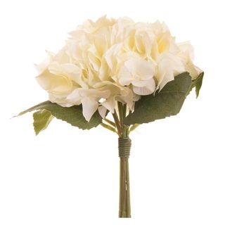 Hydrangea Bouquet 30cm White