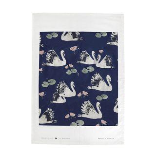 Swan Lake Single Tea Towel