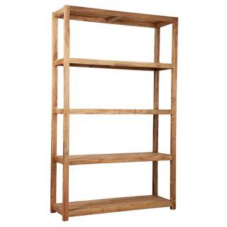 Wooden Tall Shelf 40x150x240 Natural