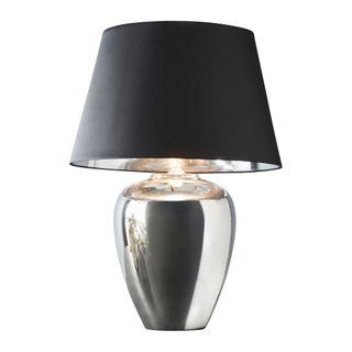 Manhattan Small - Silver - Large Urn Ceramic Table Lamp
