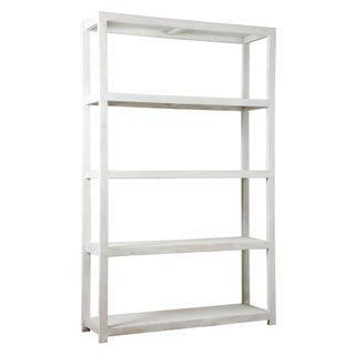 Wooden Tall Shelf 40x150x240 Whitewash
