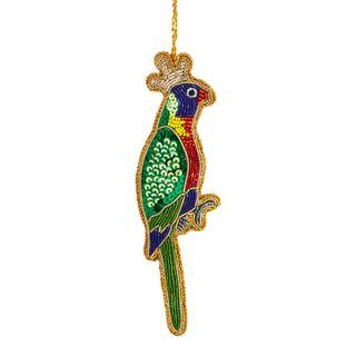 Queen Lorikeet Sequin Tree Decoration