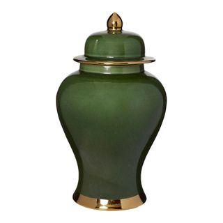 Grenfel Jar Large Green