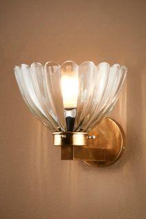 Otis Wall Lamp in Antique Brass