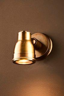 Pasco Outdoor Wall Light Antique Brass