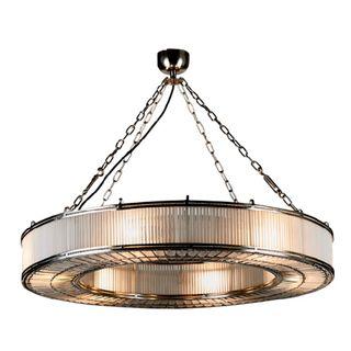 Franschhoek Ceiling Pendant Large Silver