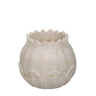 Marble Jasmine Floret Votive White