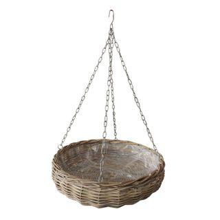 Elda Rattan Hanging Basket Large Natural