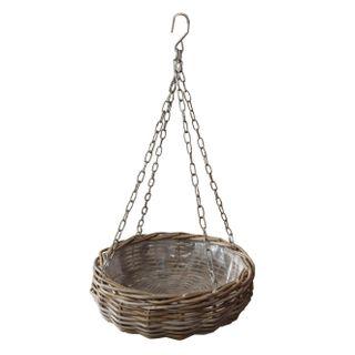 Elda Rattan Hanging Basket Small Natural