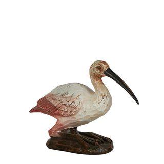 Beatrice Sitting Bird Sculpture Pink
