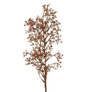 Dried Look Grass Seed Spray 75cm Brown