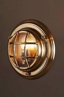 Jervis Outdoor Wall Light Brass