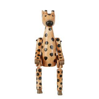 Giraffe Wooden Puppet