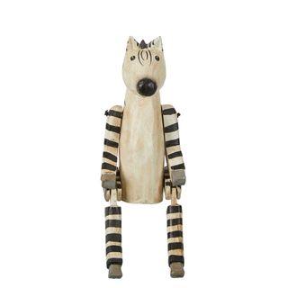 Zebra Wooden Puppet