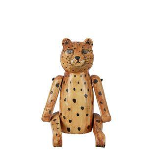 Lion Cub Wooden Puppet