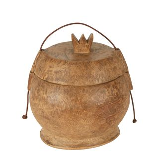 Yunnan Coconut Wood 100 Year Container Big