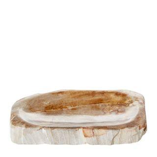 Binga Petrified Wood Soap DIsh