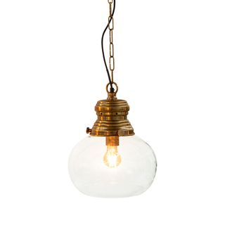 Paddington Ceiling Pendant Small Antique Brass
