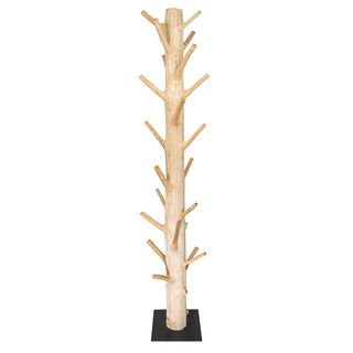Wooden Hat Stand Natural