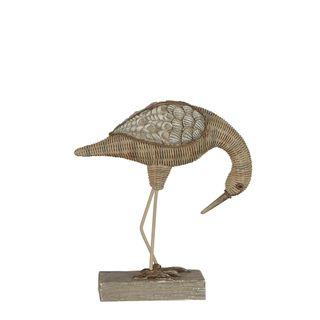 Lakeside Bird Sculpture Bending Natural