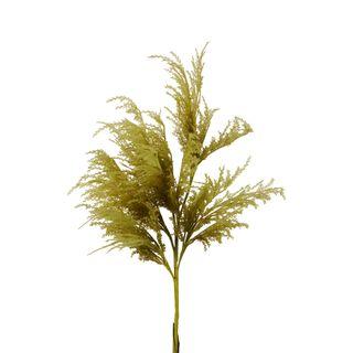 Oversized Pampas Spray Stem Moss Green