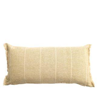 Brushed Wild Stripe Cushion Mustard