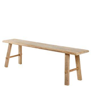 Recycled Teak Bench