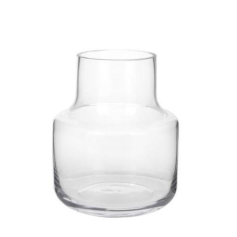 Nina Glass Vase Clear Small