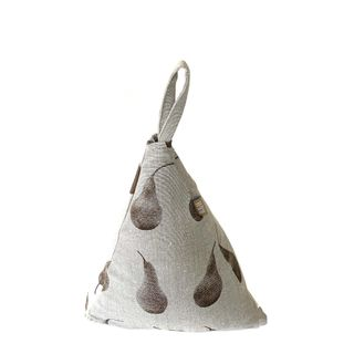 Pear Triangle Door Stopper Earth Brown