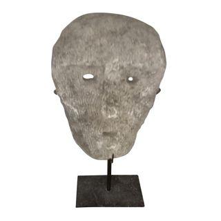 Jari Coral Mask on Stand