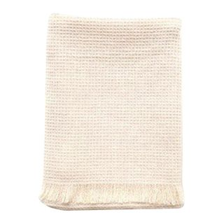 Tea Towel / Hand Towel Fringe Natural