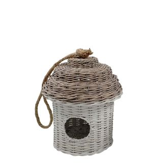 Alouette Rattan Bird House Large