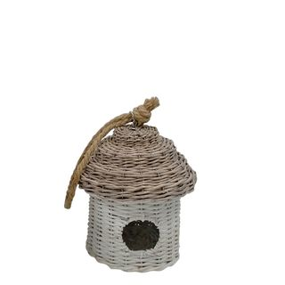 Allouette Rattan Bird House Small