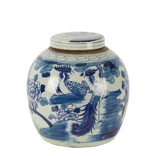 Qing Lidded Jar