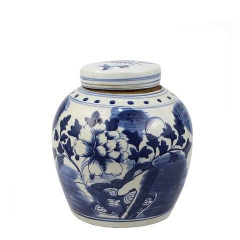 Song Lidded Jar