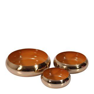 Anaise Décor Brass Bowls Set of 3 Spice