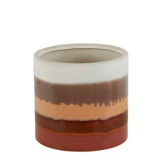 Amber Ceramic Planter Large
