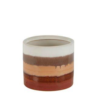 Amber Ceramic Planter Small