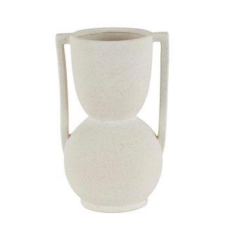 Sloane Ceramic Vase White