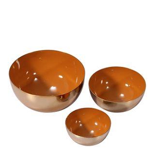 Monk Décor Brass Bowl Set of 3 Spice